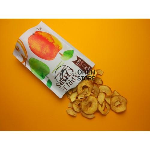 Яблочные чипсы 50г.