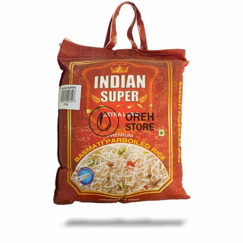 Рис Басмати 5 кг. Extra Long Indian Super Мешок